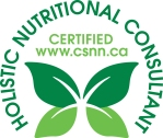 Certified Holistic Nutritional Consultant logo - alternate title for the designation Registered Holistic Nutritionist - Canadian School of Natural Nutrition